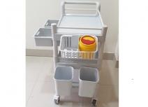 Xe y tế - đẩy thuốc -dụng cụ XDC-004